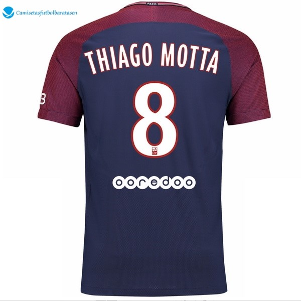 Camiseta Paris Saint Germain Primera Thiago Motta 2017/2018